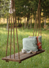 Swing Bench with 4 Strand Rope