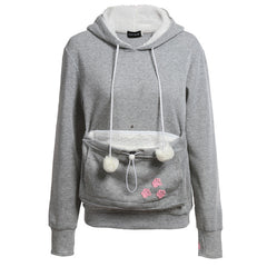 Cat Lovers Hoodies With Cuddle Pouch