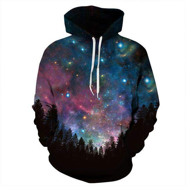 Galaxy Above 3D Hoodie