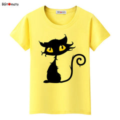 Eye Catching Black Cat 3D T-Shirt