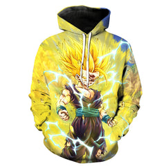 Anime Dragon Ball Z 3D Hoodie