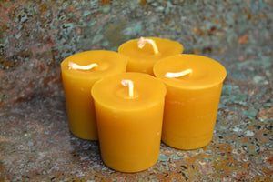 "Votive four pack 2"" candles"