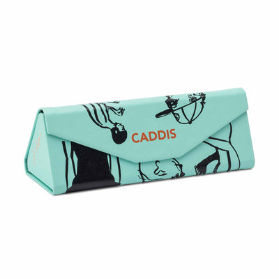 Caddis reading glasses Russ Pope: Summer Moves, Turquoise readers