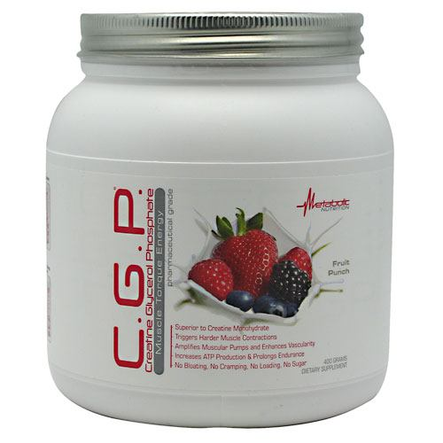 Metabolic Nutrition C.G.P. - Fruit Punch - 400 g - 764779712525