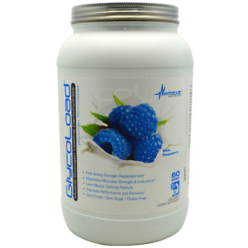 Metabolic Nutrition GlycoLoad - Blue Raspberry - 1200 g - 764779120016