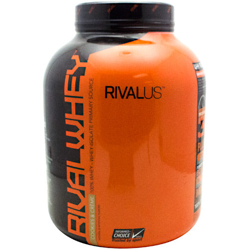 Rivalus Rival Whey - Cookies & Creme - 5 lbs - 807156001949
