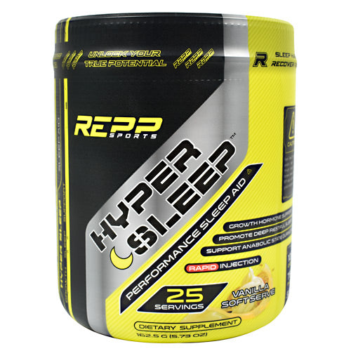Repp Sports Hyper Sleep - Vanilla Soft Serve - 25 Servings - 851090006829