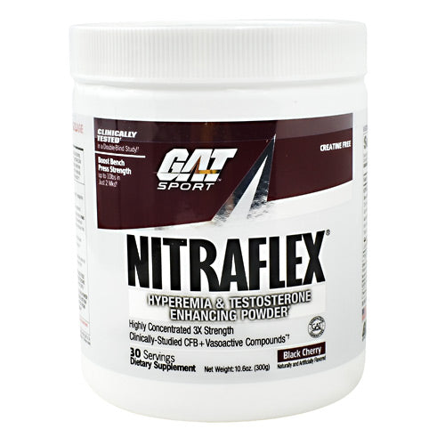 GAT Nitraflex - Black Cherry - 30 Servings - 859613647009