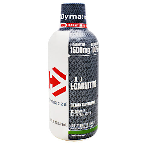 Dymatize Liquid L-Carnitine - Jolly Green Apple - 16 fl oz - 705016473205