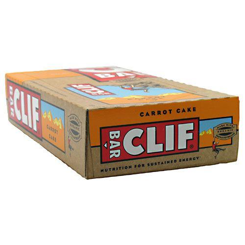Clif Bar Bar Energy Bar - Carrot Cake - 12 ea - 722252301406