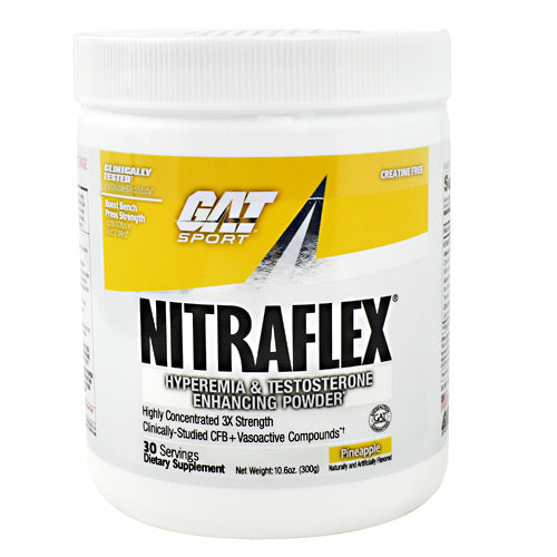 GAT Nitraflex - Pineapple - 30 Servings - 859613649072