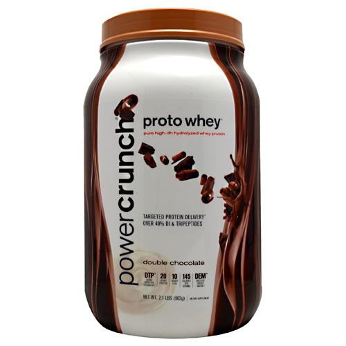 BNRG Power Crunch Proto Whey - Double Chocolate - 2 lb - 644225200014