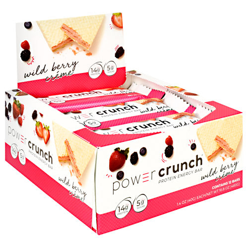 Power Crunch Power Crunch - Wild Berry Creme - 12 ea - 644225722295