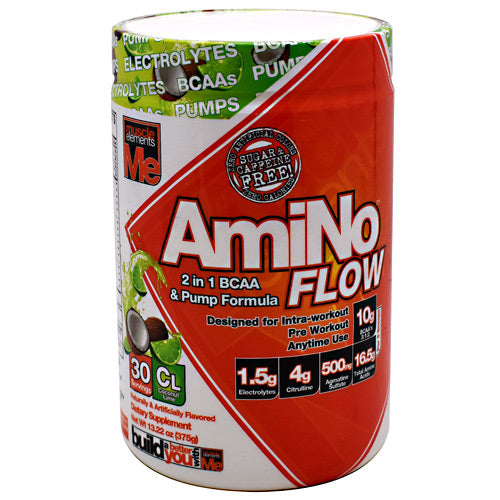 Muscle Elements AmiNo Flow - Coconut Lime - 30 Servings - 811123023209