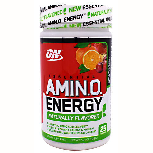 Optimum Nutrition Free Essential Amino Energy - Simply Fruit Punch - 25 Servings - 748927056075