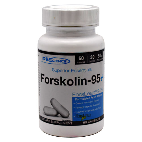 PEScience Superior Essentials Forskolin-95+ - 60 Capsules - 040232199240