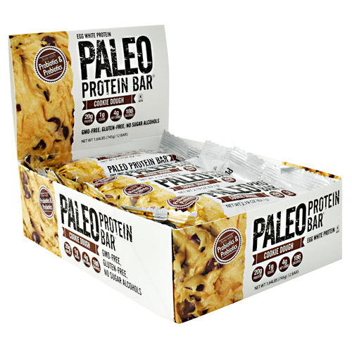 Julian Bakery Paleo Protein Bar - Cookie Dough - 12 Bars - 813926004676