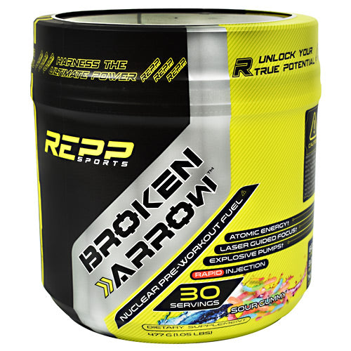 Repp Sports Broken Arrow - Sour Gummy - 30 Servings - 851090006874