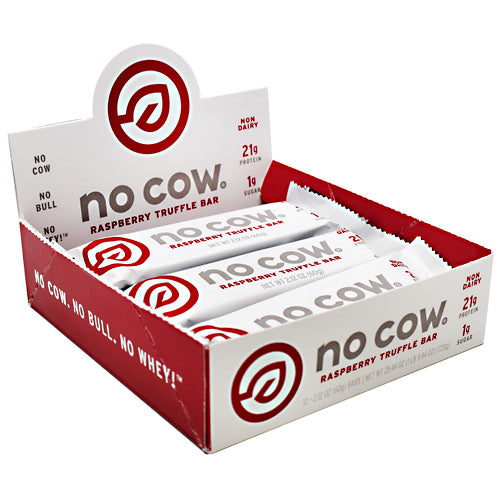 Ds Naturals No Cow Bar - Raspberry Truffle - 12 Bars - 852346005207