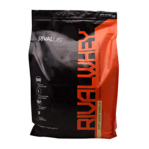 Rivalus Rival Whey - Soft-Serve Vanilla - 10 lbs - 807156002038