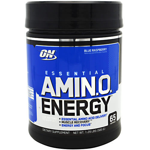 Optimum Nutrition Essential Amino Energy - Blue Raspberry - 65 Servings - 748927023190