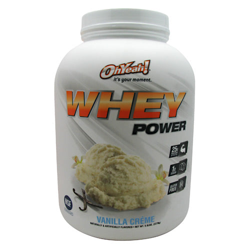 ISS Research Oh Yeah! Whey Power - Vanilla Creme - 5 lb - 788434108577