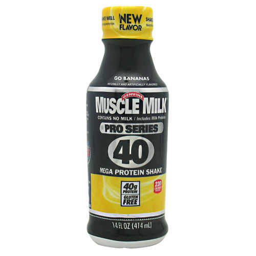 Cytosport Pro Series Muscle Milk Pro Series 40 - Go Bananas - 12 Bottles - 876063002943