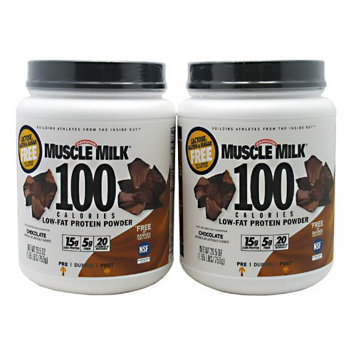 Cytosport Muscle Milk 100 Calories 2-pack - Chocolate - 1.65 lb - 00660726595213