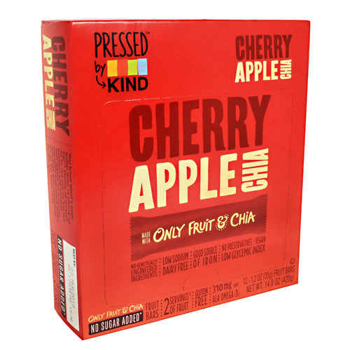 Kind Snacks Pressed Bar - Cherry Apple Chia - 12 Bars - 602652242021