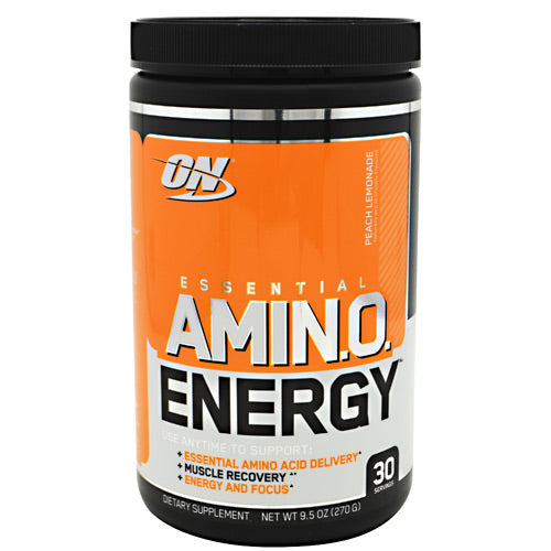 Optimum Nutrition Essential Amino Energy - Peach Lemonade - 30 Servings - 748927054316