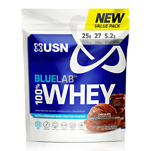 Usn Blue Lab 100% Whey - Molten Chocolate - 2 lb - 6009706099855