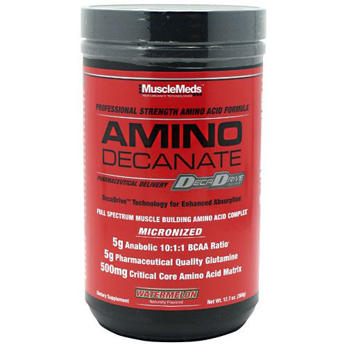Muscle Meds Amino Decanate - Watermelon - 12.7 oz - 891597002788