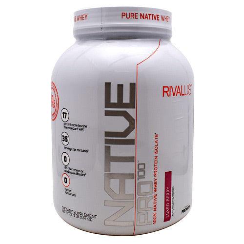 Rivalus Rivalus Native Pro 100 - Mixed Berry - 1.2 kg - 807156002915
