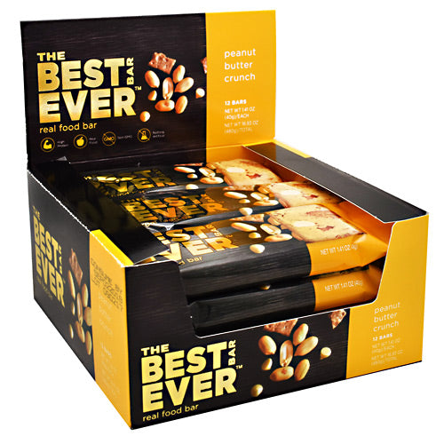 Best Bar Ever Real Food Bar - Peanut Butter Crunch - 40 g - 855246005261