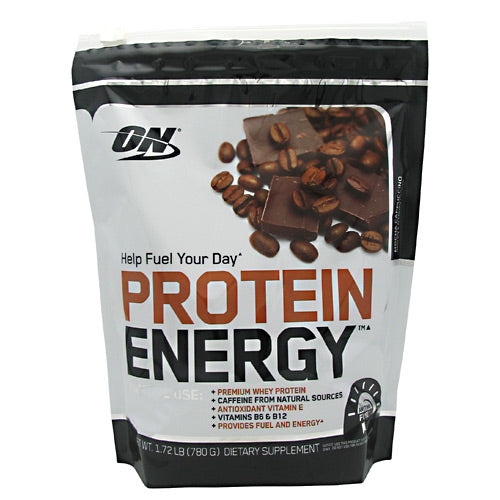 Optimum Nutrition Protein Energy - Mocha Cappuccino - 52 Servings - 748927052879