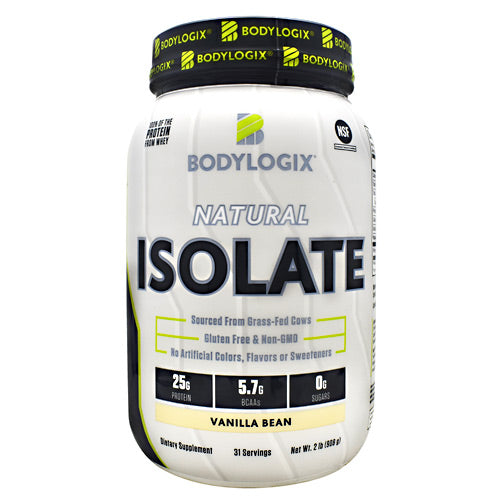 BodyLogix Natural Isolate Protein - Vanilla Bean - 2 lbs - 694422031386