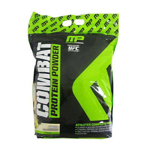 MusclePharm Hybrid Series Combat Powder - Vanilla - 10 lb - 696859262173