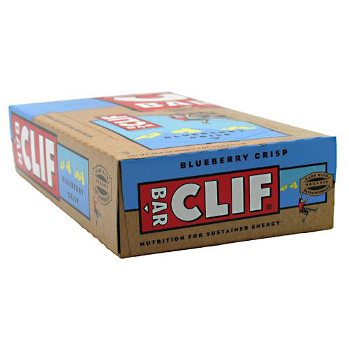 Clif Bar Bar Energy Bar - Blueberry Crisp - 12 Bars - 722252302601