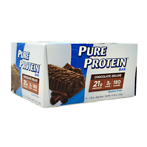Pure Protein Pure Protein Bar - Chocolate Deluxe - 6 Bars - 749826138039