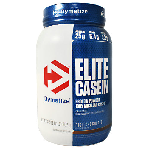 Dymatize Elite Casein - Rich Chocolate - 2 lb - 705016226009
