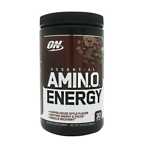 Optimum Nutrition Essential Amino Energy - Iced Mocha Cappuccino - 30 Servings - 748927054064