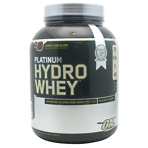 Optimum Nutrition Platinum Hydrowhey - Turbo Chocolate - 3.5 lb - 748927026382