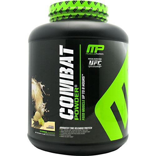 MusclePharm Hybrid Series Combat Powder - Vanilla - 4 lb - 736211991010