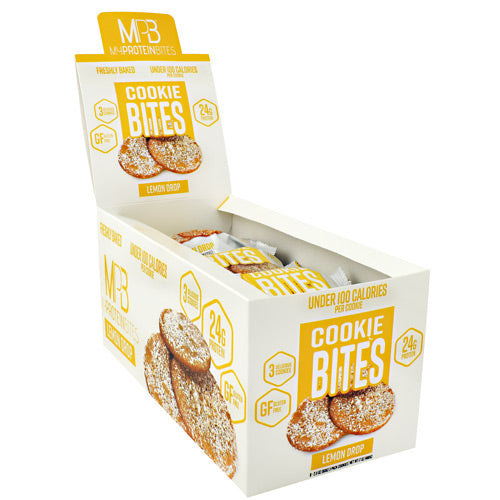 My Protein Bites Cookie Bites - Lemon Drop - 8 ea - 855597007303