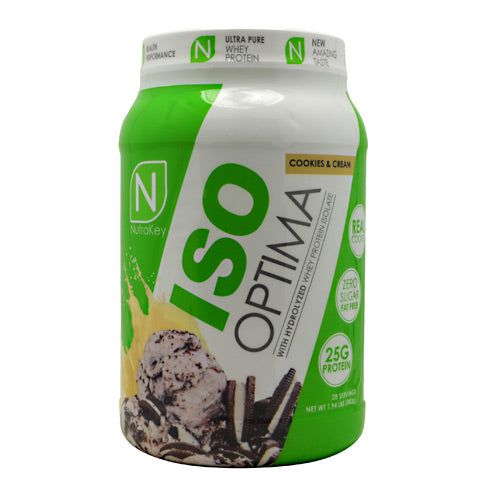 Nutrakey Iso Optima - Cookies & Cream - 2 lb - 851090006379