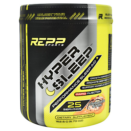 Repp Sports Hyper Sleep - Cinnamon Swirl - 25 Servings - 851090006805