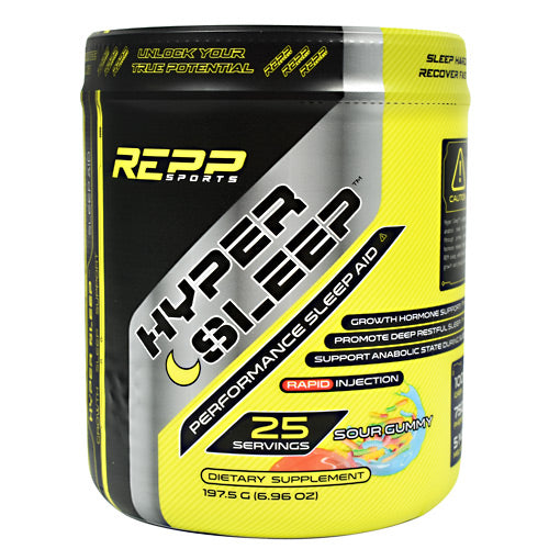 Repp Sports Hyper Sleep - Sour Gummy - 25 Servings - 851090006812