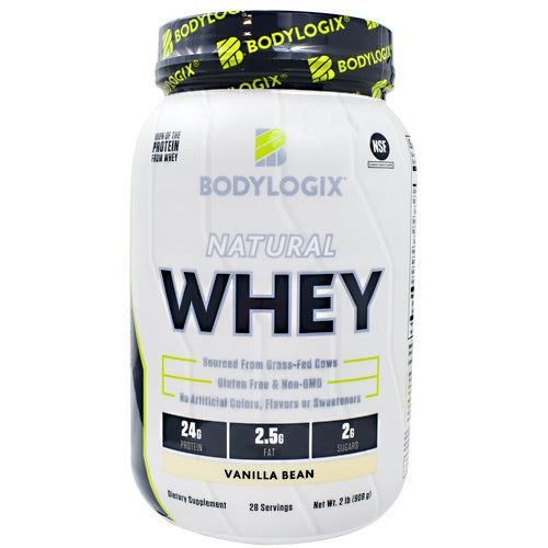 BodyLogix Natural Whey - Vanilla Bean - 2 lb - 694422031157