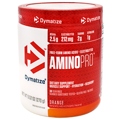 Dymatize AminoPro - Orange - 30 Servings - 705016180042