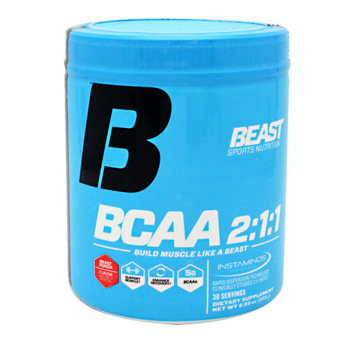 Beast Sports Nutrition BCAA 2:1:1 - Beast Punch - 30 Servings - 631312805214